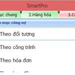 Hướng dẫn khai báo số dư đầu kỳ công nợ trên phần mềm Smart Pro 5.0