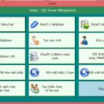 Hướng dẫn chức năng Phân quyền, Đổi mật khẩu, Khóa dữ liệu trên phần mềm Smart Pro 5.0