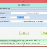 Hướng dẫn tạo cơ sở dữ liệu làm việc mới, chuyển số dư sang năm mới trên phần mềm Smart Pro 5.0