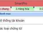 Khai báo số dư đầu kỳ hệ thống tài khoản trên phần mềm Smart Pro 5.0